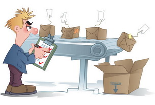 Cartoon conveyor